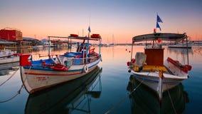 Mikrolimano, Ateny. obraz stock