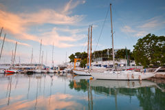 Mikrolimano marina in Athens. royalty free stock photo