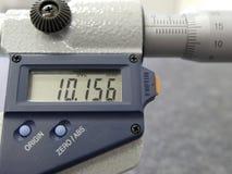 Mikrometer lizenzfreie stockfotos