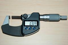 mikrometer utanför Fotografering för Bildbyråer