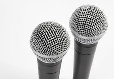 Mikrophone Stockfoto