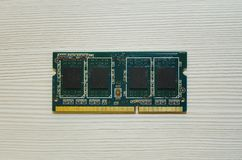 Mikroprocesorów komputerów składnik Zakończenie zdjęcie stock