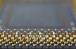 mikroprocessor Arkivbilder