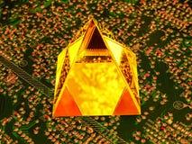 Mikroprocessorer för teknologier för tillverkning av av framtiden royaltyfri bild