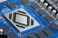 Mikroprocessorspring Royaltyfria Bilder