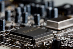 Mikroprozessor Stockfotografie