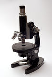 mikroscope παλαιός Στοκ φωτογραφίες με δικαίωμα ελεύθερης χρήσης