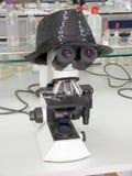 Mikroskop fotografia stock