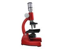 mikroskop Vektor Illustrationer