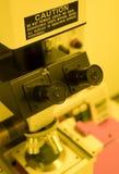 mikroskop Royaltyfri Fotografi