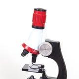 Mikroskop arbetshjälpmedel Arkivbilder