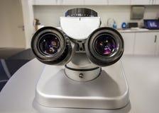 Mikroskop in der Augenklinik Lizenzfreies Stockbild