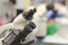 Mikroskope Stockfotos