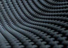Mikroskopiskt slut upp av tyg eller fibrer med djup av fältet Royaltyfria Foton