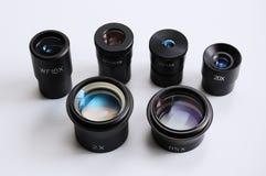 Mikroskopobjektiv lizenzfreie stockfotografie