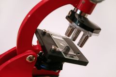 Mikroskopserie 3 stockbilder