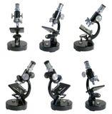 Mikroskopserie Royaltyfri Bild