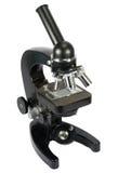 mikroskopu odosobniony biel Obrazy Stock