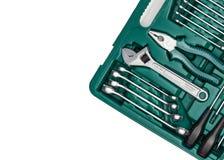 mikrotelefonów narzędzia Wiele wyrwanie i narzędzia zakończenie w pudełku dla Zdjęcia Stock