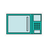 Mikrowellenküchengerät Lizenzfreie Stockfotos
