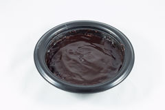 Mikrowellenschokoladenschokoladenkuchen Lizenzfreie Stockfotografie