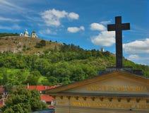 mikulov πόλη Στοκ εικόνες με δικαίωμα ελεύθερης χρήσης