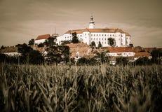 Mikulov Castle, Stock Image