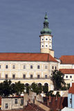Mikulov castle Stock Image