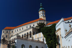 Mikulov castle - czech republic Stock Image