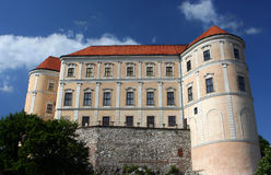 Mikulov castle, czech Republic Stock Photo