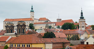 Mikulov castle, Czech Republic Royalty Free Stock Images