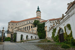 Mikulov castle, Czech Republic Stock Image