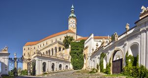 Mikulov Castle, Southern Moravia Stock Images