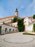 Mikulov Castle in southern Moravia Royalty Free Stock Photos