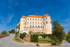 Mikulov castle, Southern Moravia, Czech Republic Stock Photography