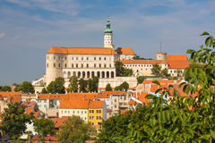 Mikulov castle, Southern Moravia, Czech Republic Royalty Free Stock Images