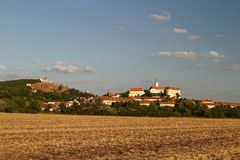 Mikulov in Czech republic Royalty Free Stock Photography