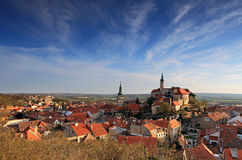 Mikulov - historic city in Czech Republic Royalty Free Stock Photography