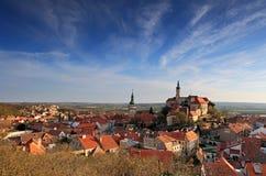 Mikulov - historische Stadt in der Tschechischen Republik Lizenzfreie Stockfotografie