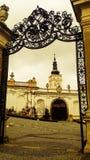 Mikulov im Stadtzentrum gelegen lizenzfreie stockbilder