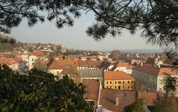 Mikulov, République Tchèque Photo libre de droits