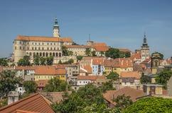 Mikulov, Repubblica ceca Fotografia Stock
