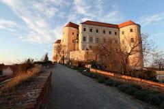 Mikulov Schloss, Tschechische Republik stockbild