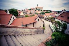 Mikulov Town Stock Photo