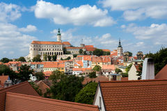 Mikulov town, South Moravia, Czech Republic Stock Photo