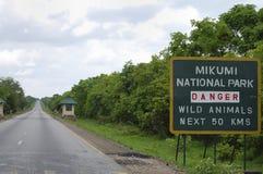 Mikumi National Park - Tanzania. Mikumi National Park in Tanzania Royalty Free Stock Image