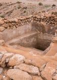 Mikveh σε Qumran Στοκ Εικόνα