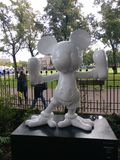 Miky-Maus in amesterdam 😠' Stockbild