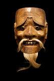 Mikzuki (male spirit) Noh mask Royalty Free Stock Photography