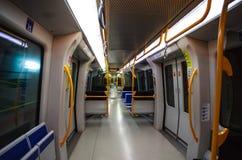 Milán, Italia Carro del subterráneo Imagen de archivo libre de regalías
